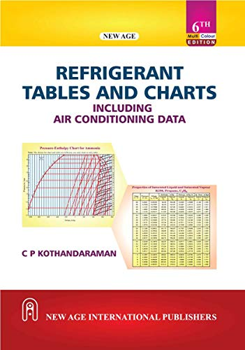 Refrigerant Tables and Charts including Air Conditioning: Kothandaraman, C.P.