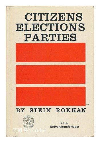 9788200021667: Citizens, Elections, Parties (Scandinavian University Books)