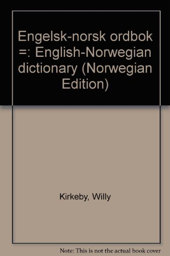 9788200077695: Engelsk-norsk ordbok =: English-Norwegian dictionary (Norwegian Edition)