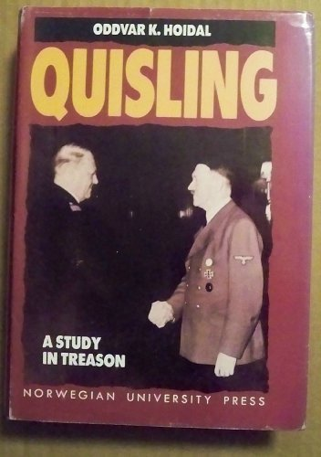 9788200184003: Quisling: A Study in Treason