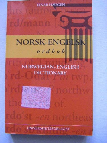 9788200227229: Norsk-Engelsk ordbok. Norwegian-English Dictionary