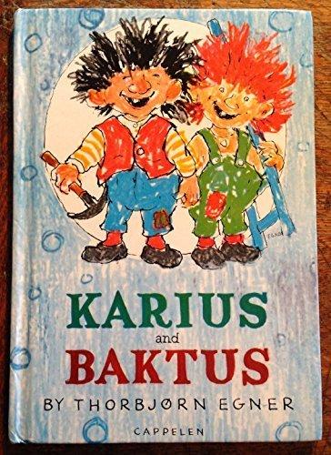 9788202182922: Karius and Baktus