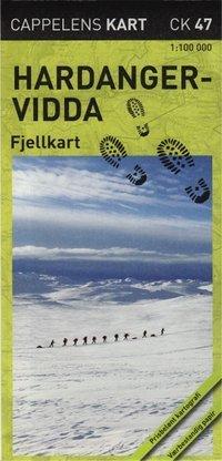 9788202377847: Hardangervidda Fjellkart CK47 : 1:100000