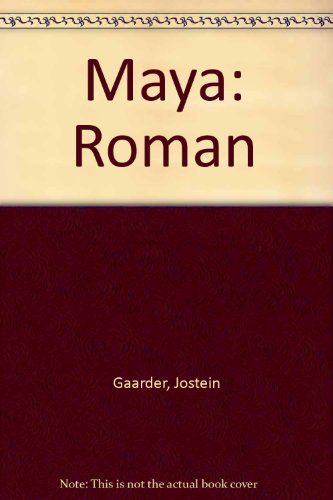 9788203181634: Maya: Roman (Norwegian Edition)