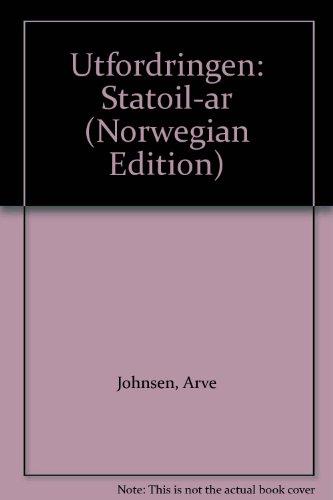 9788205177239: Utfordringen: Statoil-ar