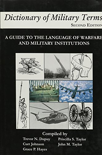 9788242102553: Dictionary of Military Terms: A Guide to the Language of Warfare and Military Institutions