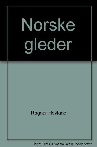 9788252159653: Norske gleder (Norwegian Edition)