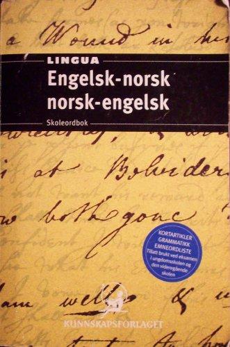 Lingua Engelsk - norsk Norsk-engelsk Skleordbok