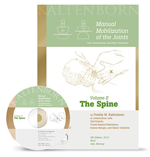 9788270542000: Manual Mobilization of the Joints, Vol 2: The Spine, (Book & DVD) by Freddy M Kaltenborn (2012) Paperback