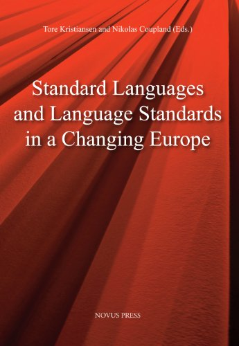 9788270996599: Standard Laguages and Language Standards in a Changing Europe