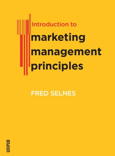 9788274774896: Introduction to Marketing Management Principles
