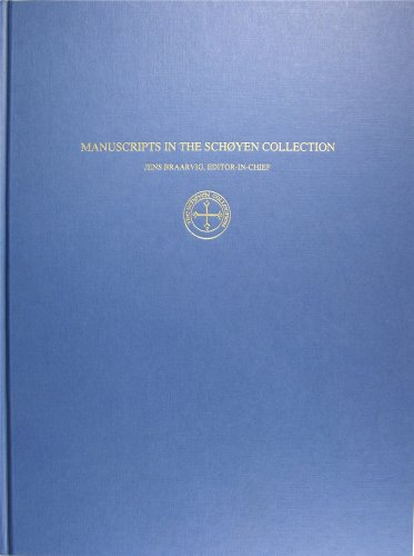 Manuscripts in the Schoyen Collection: Volume I: Buddhist Manuscripts: Jens Braarvig (General ...