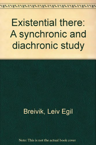 9788290423006: Existential there: A synchronic and diachronic study
