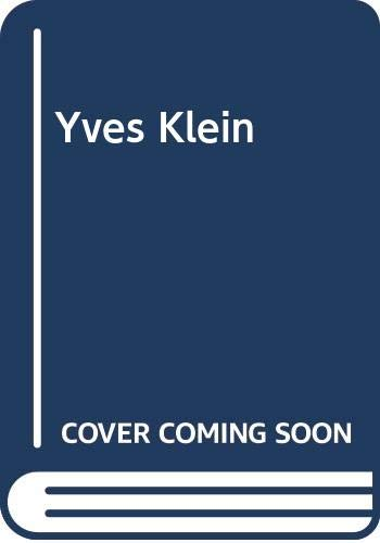 9788291727011: Yves Klein (Series / The National Museum of Contemporary Art, Norway) (Norwegian Edition)