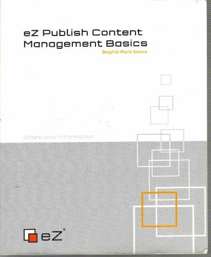 9788292797051: eZ Publish Content Management Basics