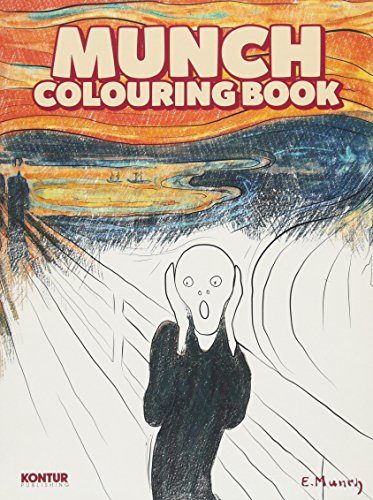9788293053224: Munch Colouring Book