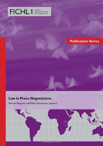 9788293081081: Law in Peace Negotiations