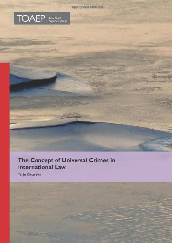 9788293081333: The Concept of Universal Crimes in International Law