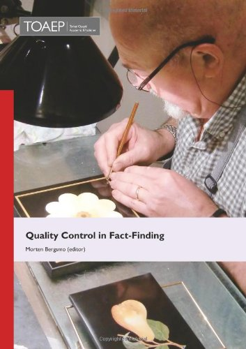 9788293081784: Quality Control in Fact-Finding