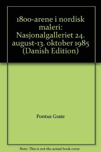 1800-arene i nordisk maleri: Berg, Knut