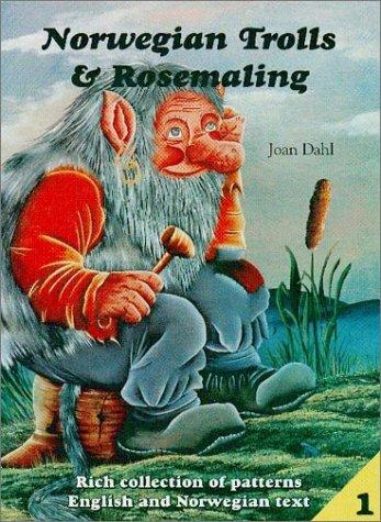 9788299509312: Norwegian Trolls & Rosemaling Vol. 1