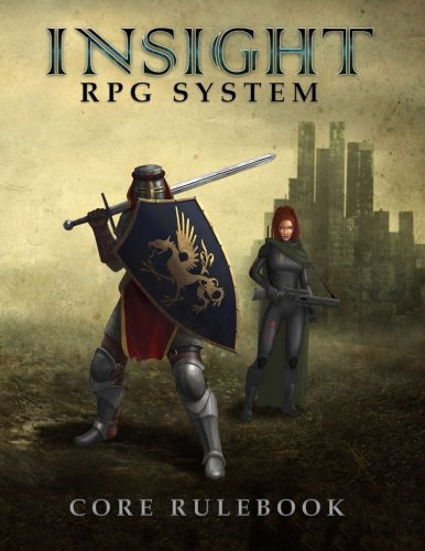 9788299953900: Insight RPG System Core Rulebook