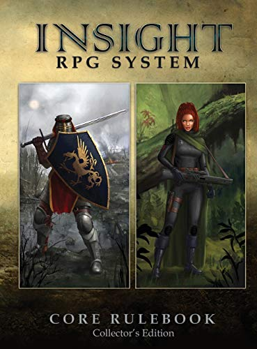 9788299953917: Insight RPG System Core Rulebook