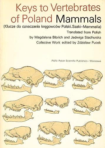 9788301025533: Keys to vertebrates of Poland, mammals