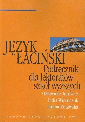 9788301119294: Jezyk lacinski