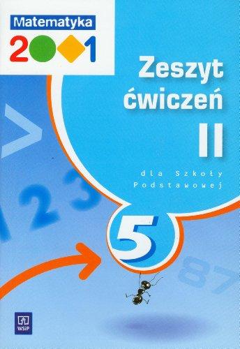 Matematyka 2001 5 Zeszyt cwiczen Czesc 2: Agnieszka Pfeiffer, Jerzy