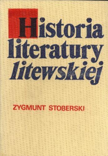 Historia Literatury Litewskiej: Zarys: Zygmunt Stoberski