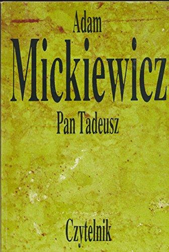9788307020402: Pan Tadeusz (Polish Edition)