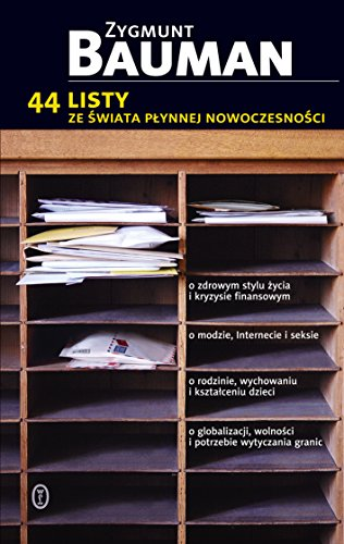 44 listy ze swiata plynnej nowoczesnosci (polish): Bauman Zygmunt