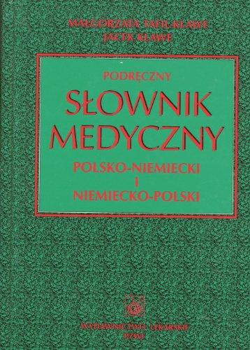 9788320033854: Podreczny slownik medyczny polsko-niemiecki i niemiecko-polski
