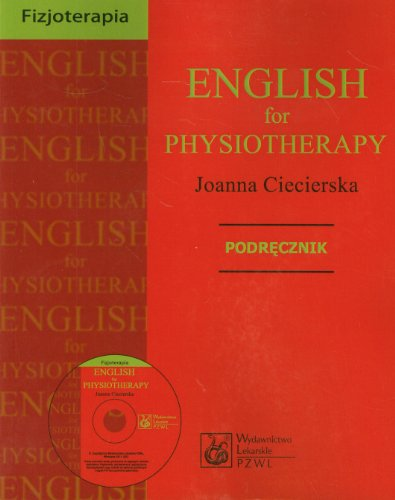 9788320045703: English for physiotherapy Podrecznik z plyta CD
