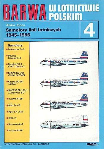 9788320605297: Barwa: W Lotnictwie Polskim 4: Samoloty linii lotniczych 1945 - 1956