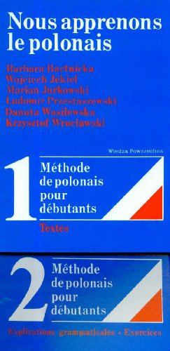 9788321409665: nous apprenons le polonais 2 vols vol 1 textes vol 2 explication grammaticale exercices.