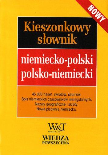 9788321412894: Kieszonkowy slownik niemiecko-polski polsko-niemiecki