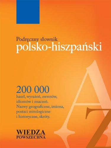 9788321414669: Podreczny slownik polsko-hiszpanski