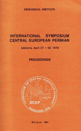 International Symposium Central European Permian. Jablonna, April: D B Smith