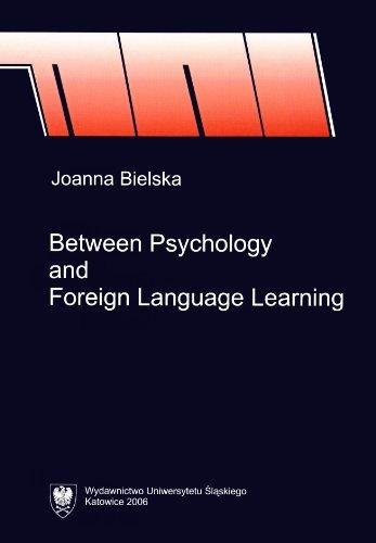 9788322615027: Between Psychology and Foreign Language Learning