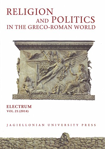 9788323338574: Religion and Politics in the Greco-Roman World (Electrum Journal of Ancient History)