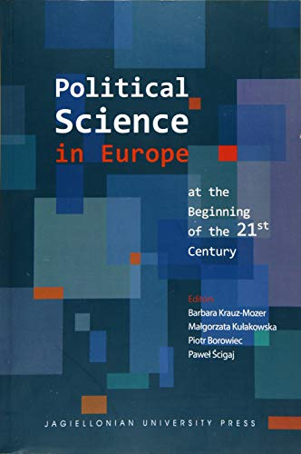 9788323339380: Political Science in Europe at the Beginning of the 21st Century