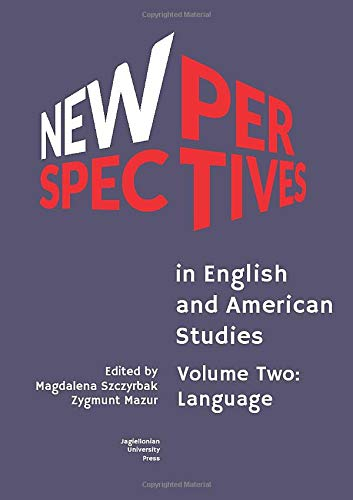 9788323346876: New Perspectives in English and American Studies: Volume Two: Language