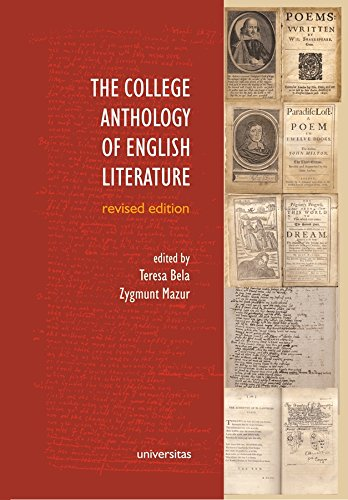 9788324230365: The College Anthology of English Literature