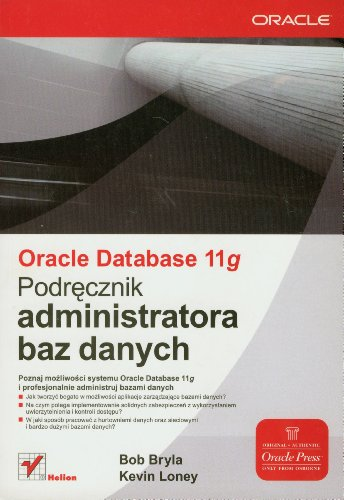 9788324625475: Oracle Database 11g