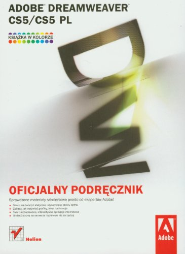 9788324629169: Adobe Dreamweaver CS5/CS5 PL: Oficjalny podrecznik