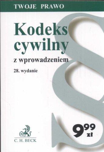 Kodeks cywilny z wprowadzeniem: Flisek, Aneta (red.)