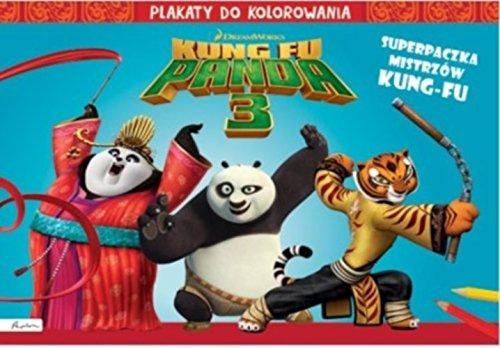 9788327115201: Dream Works Kung Fu Panda 3 Superpaczka Plakaty do kolorowania