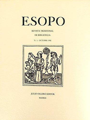 ESOPO. Revista de bibliofilia Números I-V: A.A .V.V.
